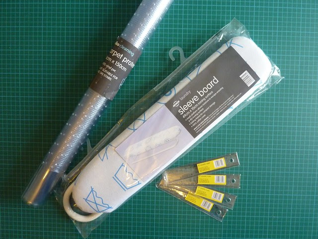 Carpet Protector, Sleeve Board, Small Rulers