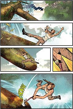 Tomb Raider #1 from Dark Horse Comics