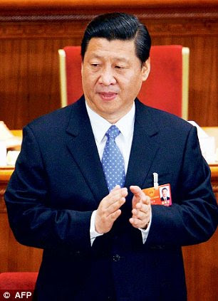 President Hu Jintao stepped aside as ruling party leader today to clear the way for Vice President Xi Jinping