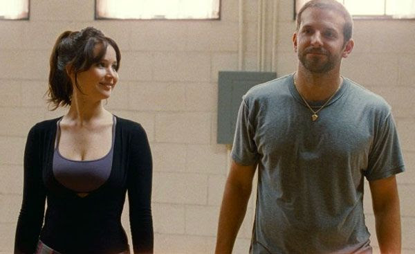 Pat and Tiffany rehearse for a dance number that will change their lives in SILVER LININGS PLAYBOOK.