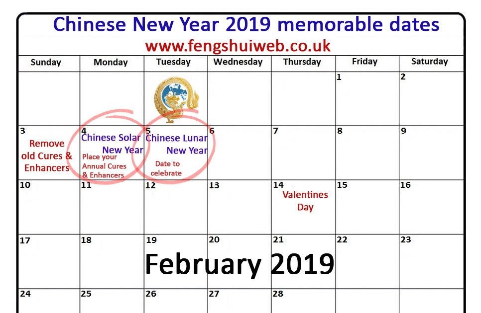 25 Unique When Is The Chinese New Year 2019
