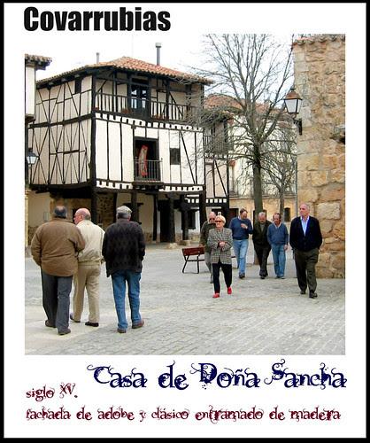 Covarrubias: casa de Doña Sancha