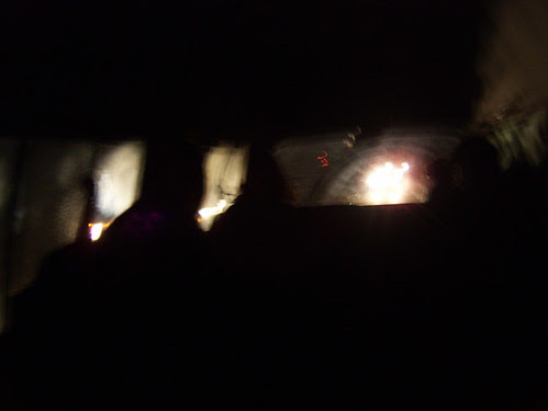 driving back in the dark