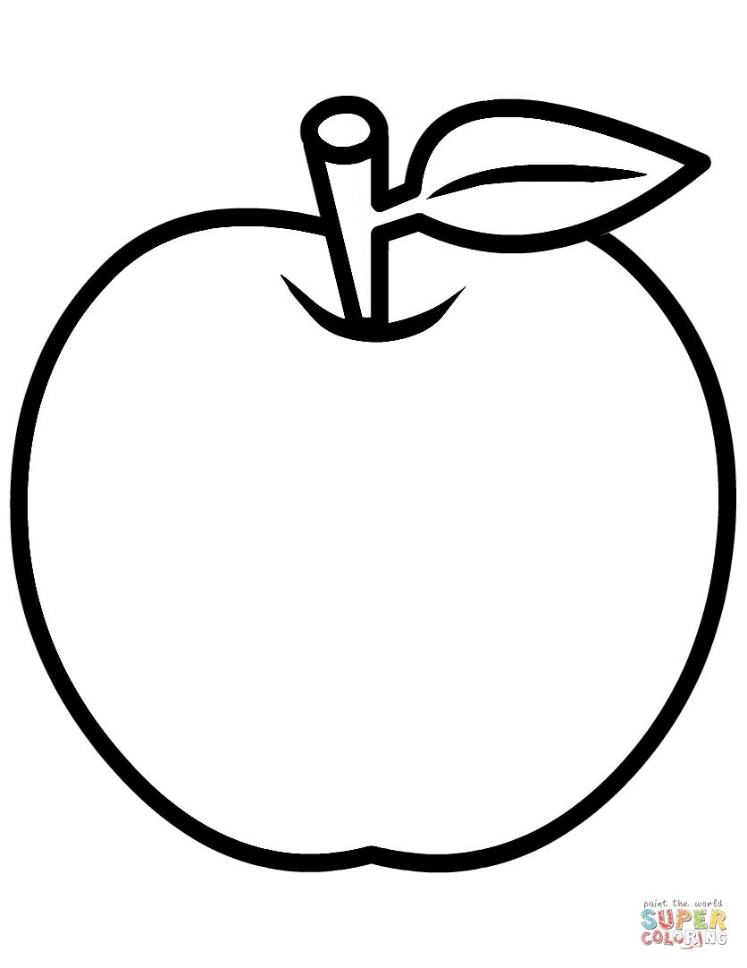 Inspiration Coloriage Pomme A Imprimer Gratuit | Imprimer et Obtenir une Coloriage Gratuit Ici