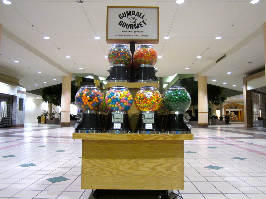 The Hunger Games Opening Deserted Charlestowne Mall Gumba