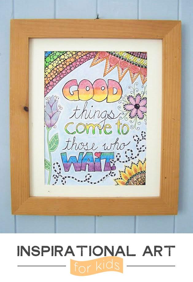 http://playfullearning.net/inspirational-artwork-kids/