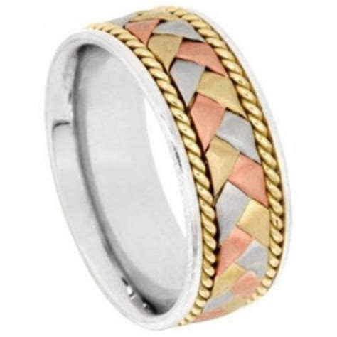 17 Best images about Braided Wedding Bands on Pinterest