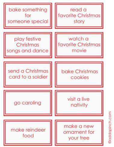 20 Advent Calendar Ideas My Frugal Adventures