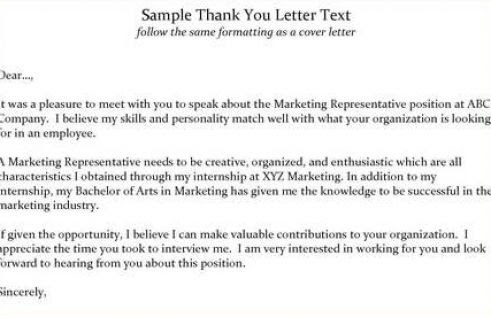 tag sample thank you letter after an interview for teaching position