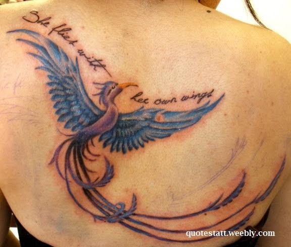 Quotes For Phoenix Bird Tattoo Quotestatt