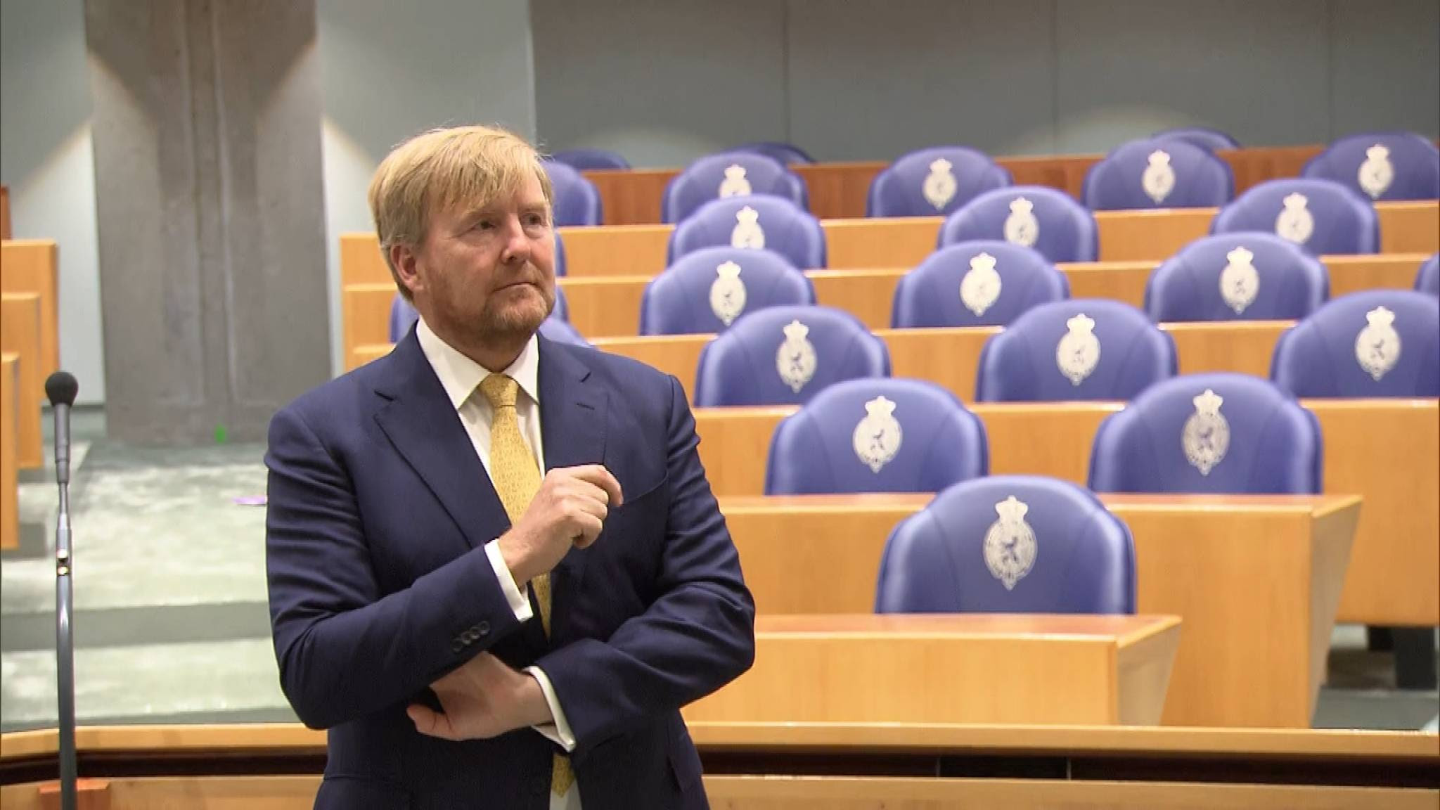 Kamer blijft vragen om meer inzicht kasboek koning, Rutte zegt nee
