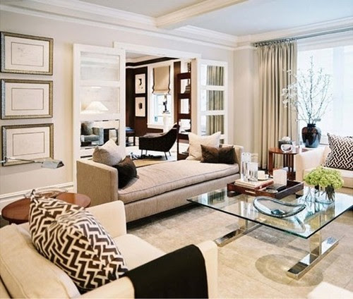 elegant-white-beige-living-room-decorating-ideas-eclectic-home ...