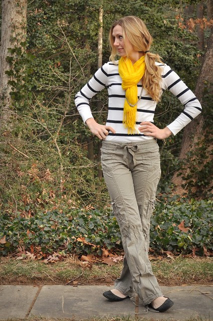 the yellow scarf affair