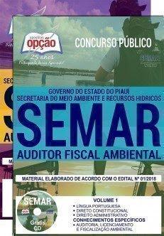 Apostila Concurso SEMAR 2018 | AUDITOR FISCAL AMBIENTAL