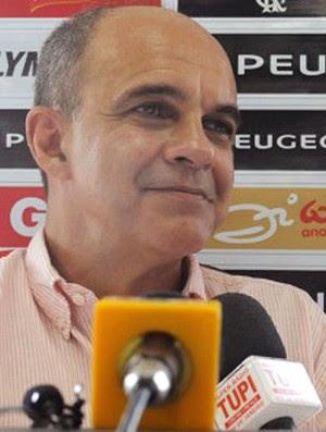 Bandeira de Mello, Presidente do Flamengo (Foto: Divulgação/Site Oficial do Flamengo)