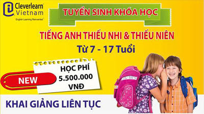 Cleverlearn Vit Nam, CleverKids, trnh Anh ng, gi sn phm