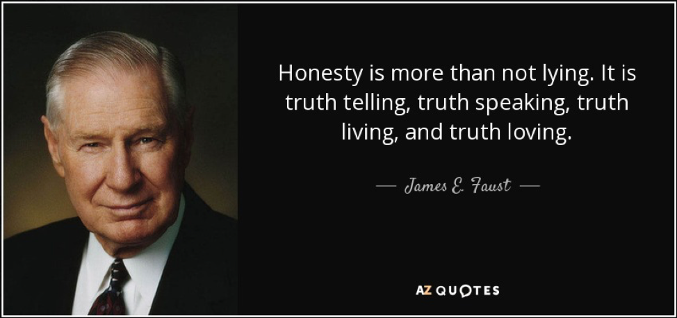 The Art And Responsibility Of Truth Telling Rgalen Consulting