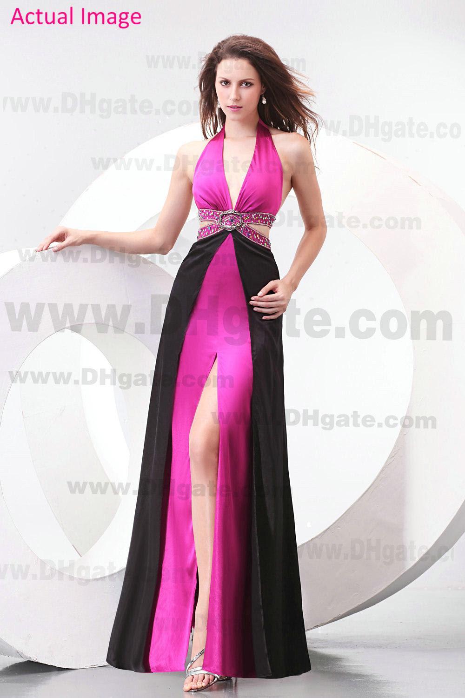 Hot black evening dresses