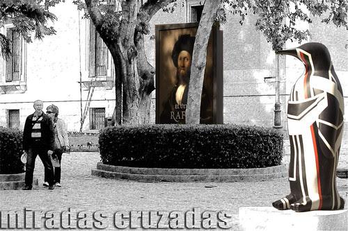 miradas cruzadas //// Penguin Madrid