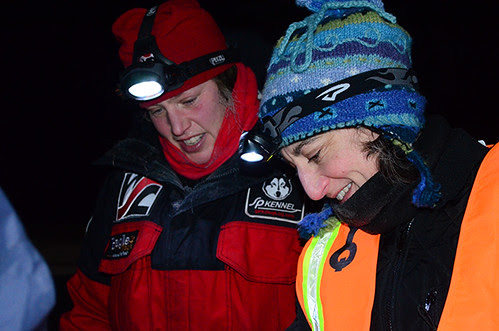 YQ300 mushers leave for Stepping Stone