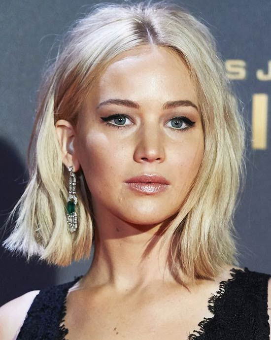 Jennifer Lawrence Long Bob