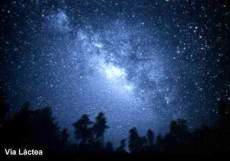Centro galáctico en una noche de verano