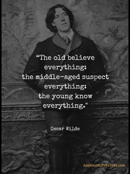 78 Great Oscar Wilde One Liners On Love Life And Money Bilal Hafeez