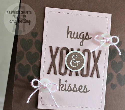 hugs & kisses closeup