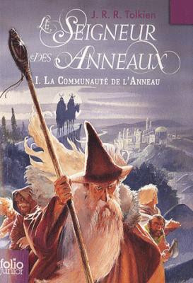 Couverture Le Seigneur des Anneaux, tome 1 : La Communauté de l'Anneau / La Fraternité de l'Anneau