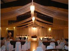 Wedding Reception Decoration   Transforming a cultural hall / gym   Church Wedding Decorations