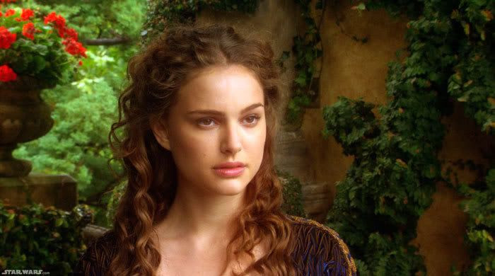 Natalie Portman as Queen Amidala in STAR WARS: EPISODE II - ATTACK OF THE CLONES.