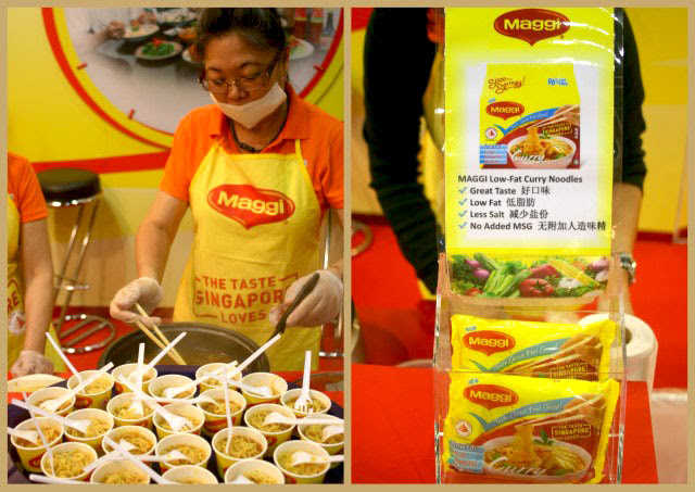 Maggi low-fat air-dried noodles