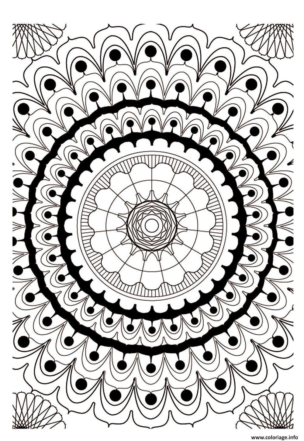 Coloriage Art Therapie 16 Jecoloriecom