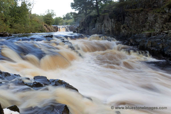 01M-2910 The River Tees at Low Force in Upper Teesdale County Durham UK