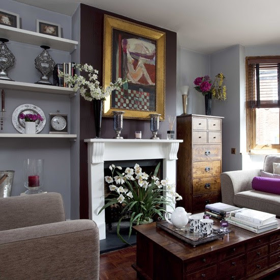 Grey living room | Traditional living rooms | housetohome.
