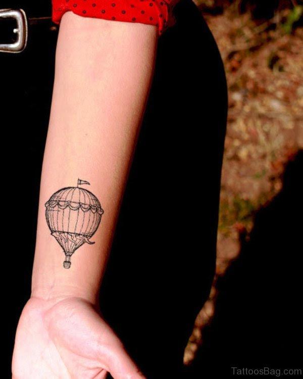 27 Decent Balloon Tattoos On Wrist