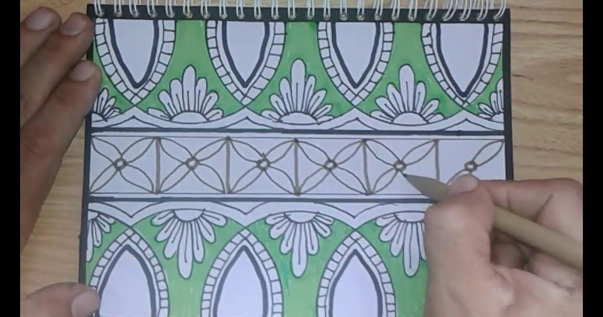 Gambar Ornamen Batik Yang Mudah - Gambar Kelabu