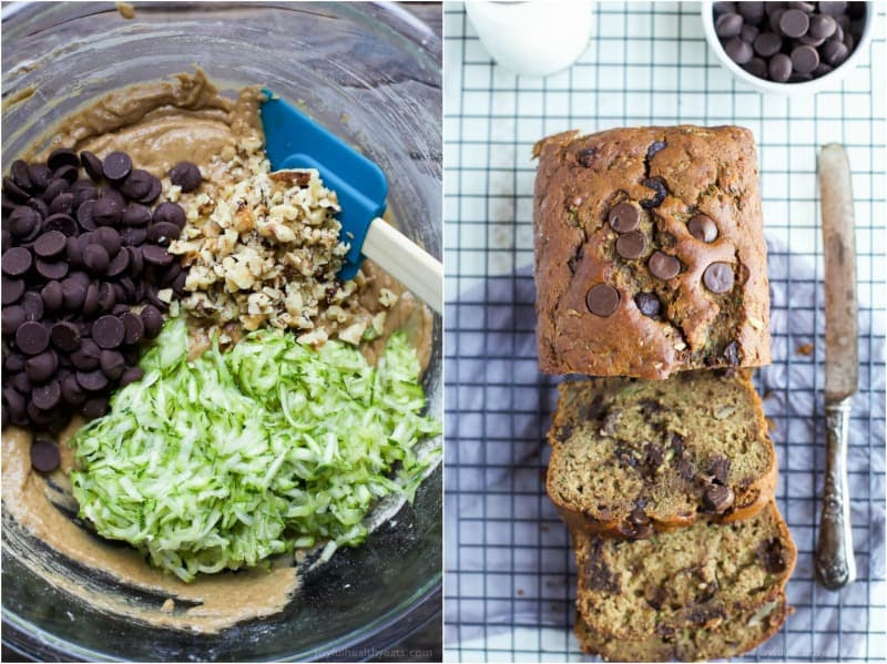 Chocolate Chip Zucchini Bread | Easy Healthy Recipes Using ...