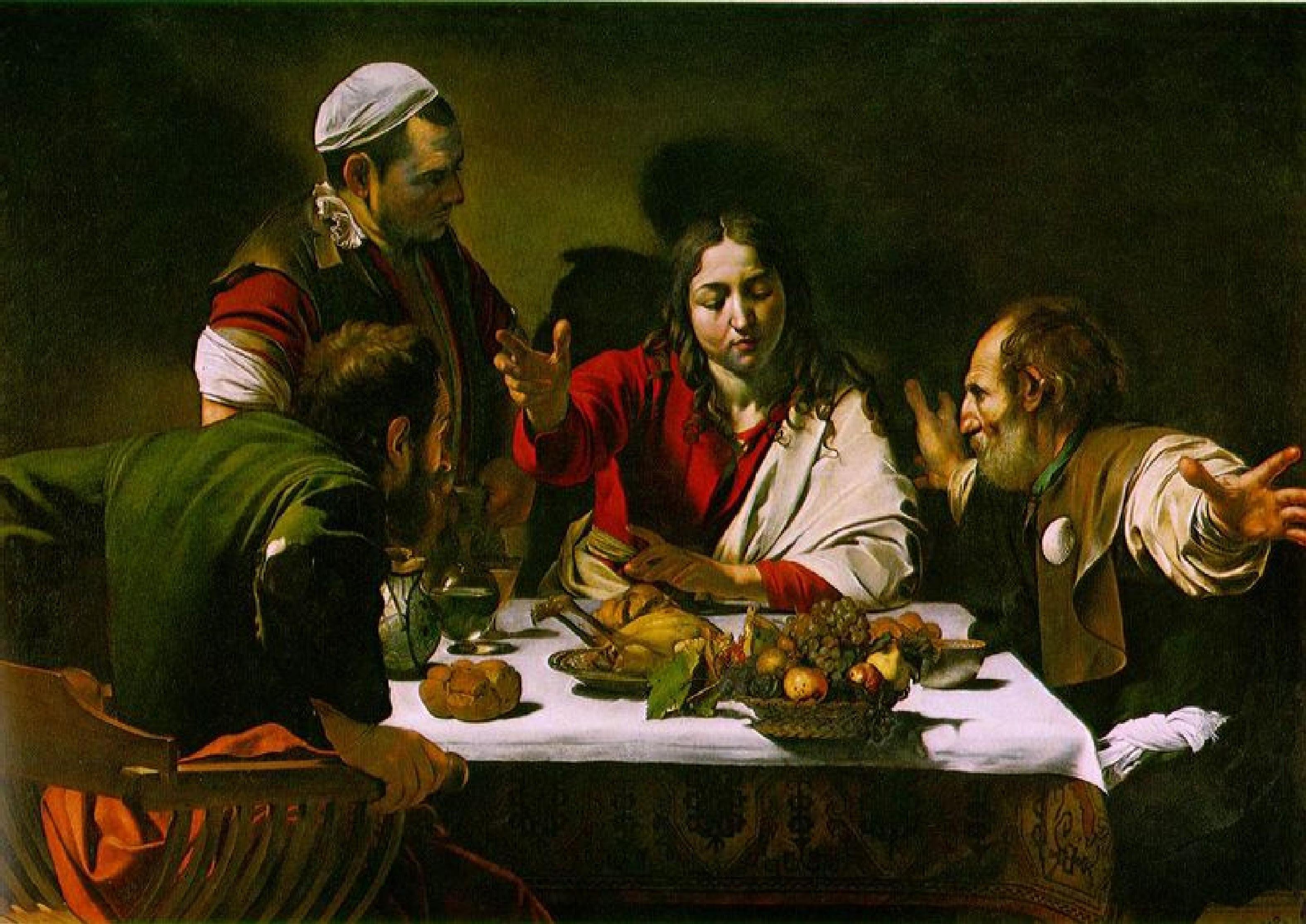 Caravaggio - A Ceia de Emmaús