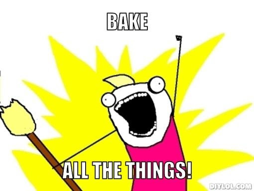 With the cooler weather I now want to BAKE ALL THE THINGS!