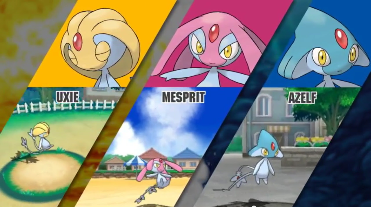 Uxie, Mesprit, Azelf  The PokeMasters