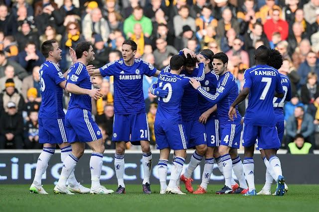 Chelsea sofre, mas vence o Hull City e mantém vantagem
