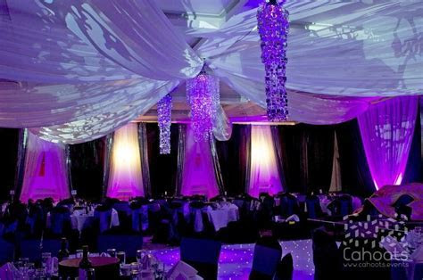 Cahoots   Themed Events Decadent lighting and drapes for a