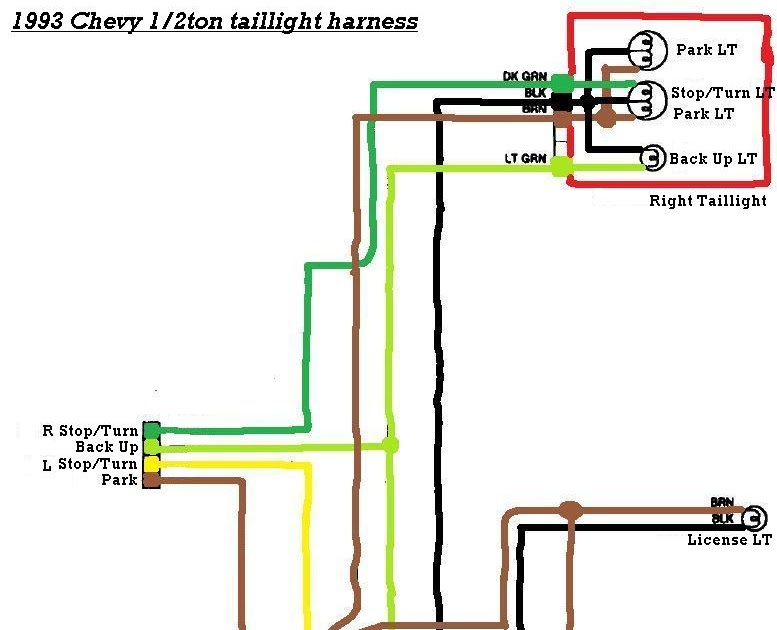 1994 Chevy Truck Brake Light Wiring Diagram