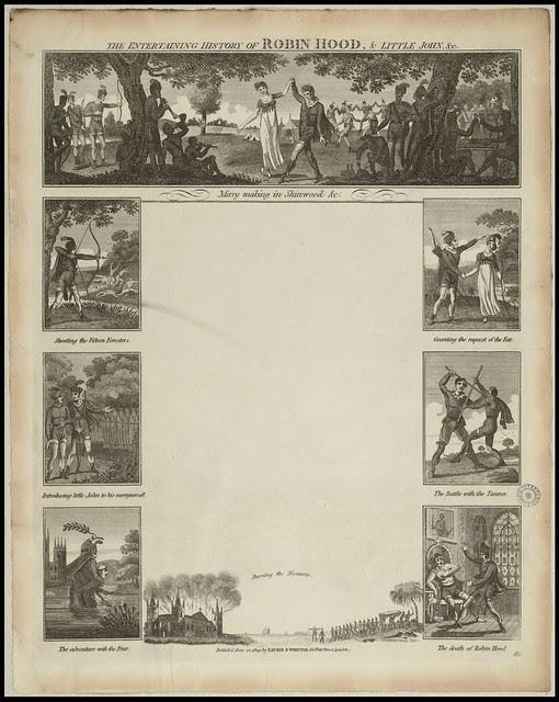 The Entertaining History of Robin Hood, & Little John, &c.