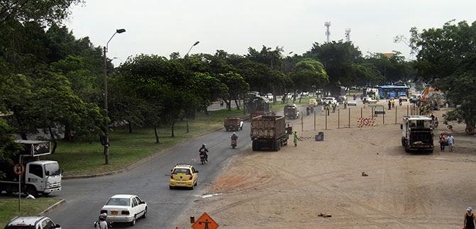 Ruta A34 del MIO modifica recorrido por obras en Paso del Comercio