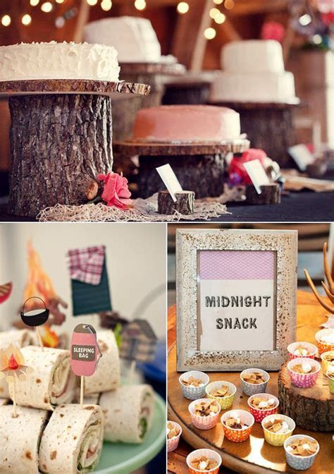 1000  images about Camping theme wedding shower on
