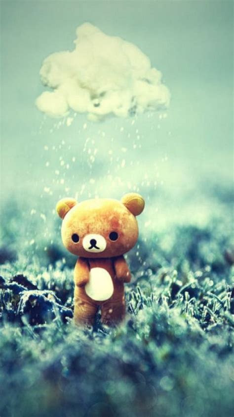 teddy bear wallpaper  iphone   iphone wallpaper