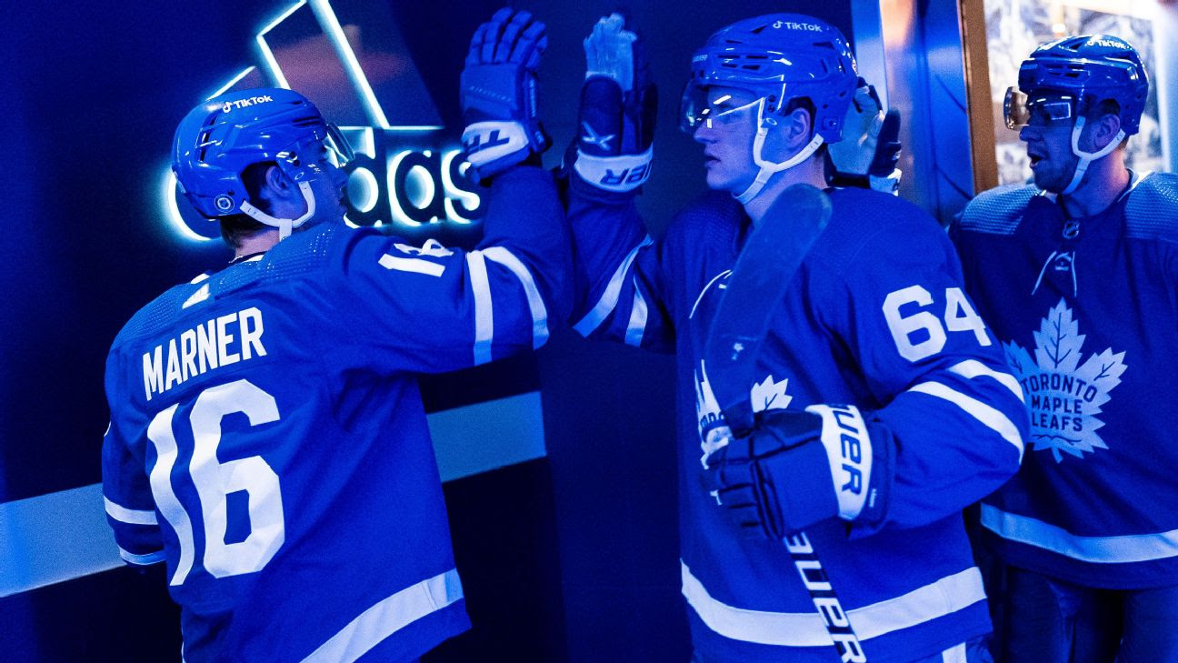 Pierre Engvall Scores First Goal Of Season For Maple Leafs, On The Powerplay