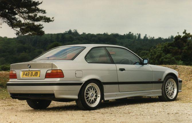 E36 coupe, a personal favourite of mine